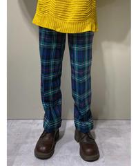 SABRINA tartan check tuck pants-1960-6