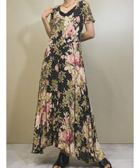 STARINA flower long dress