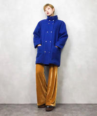 JORD ACHE blue wool coat-826-1