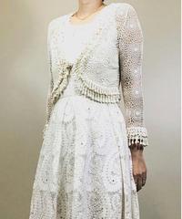 Crochet lace rétro cardigan-1147-5