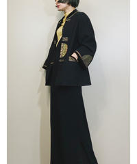 China design black wool jacket-1601-1
