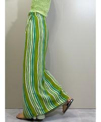 REACTION stripe design import wrap skirt-2006-7