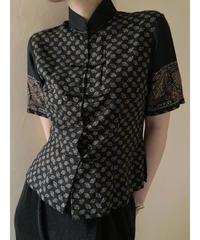 Kira black color china shirt-1973-6
