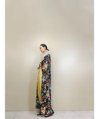STEGIANI floral design import long gown-1801-4