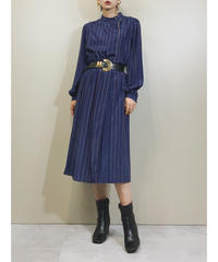MISS ONWARD navy classical dress-1757-3