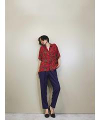 Shristie&Jill overall pattern shirt-1274-7