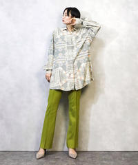 Lady plus globemode long shirt-965-3