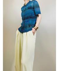 fabius paisley design cool sheer shirt-1867-5