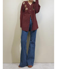 DIMENSION MADE IN U.S.A vintage shirt jacket-1679-2