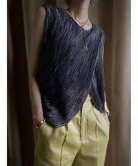 Donne-Moi cross design knit tops -2011-7