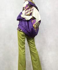 WAST WEST purple nylon jacket-1057-4