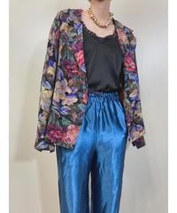 KAZUKO MARIMURA floral silk shirt jacket-1841-4