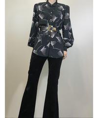Surshiue black rétro shirt-548-9