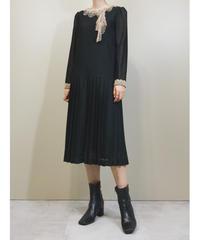 PLAISIR Tokyo-blouse Lace collar dress-1782-3
