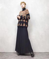 Rétro pop primary color knit-840-1