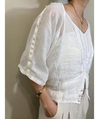 MARITHE FRANCOIS GIRBAUD linen tops-1954-6
