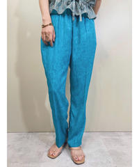 Light blue color relax straight pants-1915-5