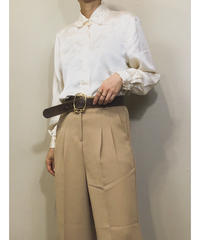 YU RU YI embroidery silk shirt-1142-5