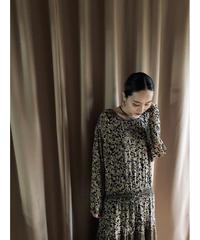 CL CAROLE LITTLE antique design vintage dress-2015-7