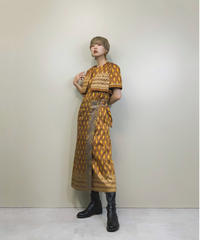 Atelier DUO exotic ensemble dress-1348-9