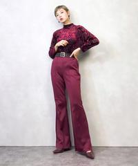 Velour rose elegance tops-886-2