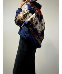Crown design import navy nylon  jacket-2229-10