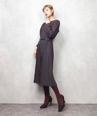 MODE SALON Endo TOKYO paisley dress-833-1