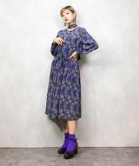 Port  Michelle silk soap bubble dress-1011-3
