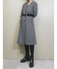 ORIGINAL Cattleya open collar dress-1640-1