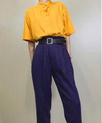 TAKE AWAY mustard yellow shirt−1164-6