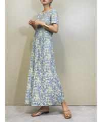 TEDDI pale color long flower dress-1289-7
