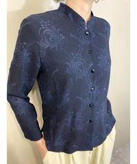 Watermark design navy color shirt -1821-4