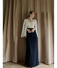 r-wear MADE I U.S.A. vintage black maxi dress-2004-6