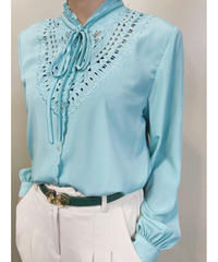 SCHONMORE mint green color shirt-1817-4
