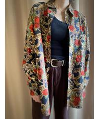 SUDBURY rose design cotton shirt-2195-9