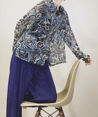 BRUNO PIRTTELLI see-through shirt-1107-5