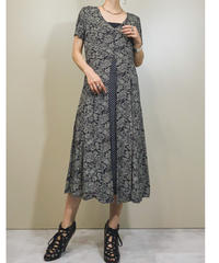 S.ROBERTS import paisley dress-1175-6