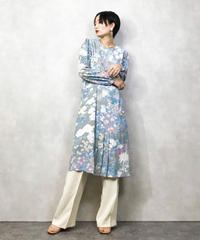 Elle yeamne pale light blue dress-991-3