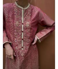 LIMELIGHT Jacquard fabric exotic import tunic-2073-7