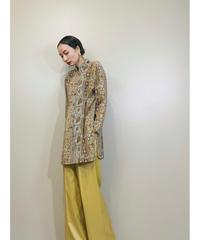 LOUISJOONE stand collar antique design shirt-1394-9