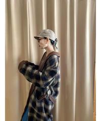 LLOYO wool 100% import long gown coat-2240-10