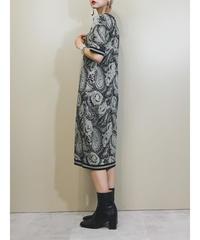 ungaro solo donna PARIS summer knit dress-1878-5