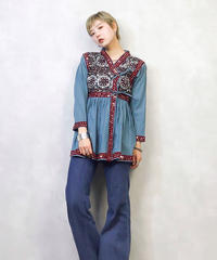HANDMADE embroidery beads tops-920-2