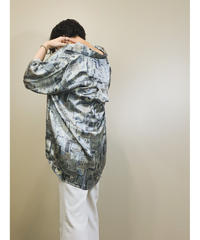Qcaonuo over size silk shirt-1178-6