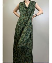 SAGHARBOR vintage flower sleeveless dress-1989-6