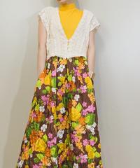 feminine design short length lace vest-1342-8