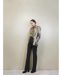 cestmavie flower design over size jacket-1414-9