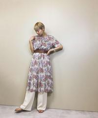 Flower lace subtle classical dress-1128-5