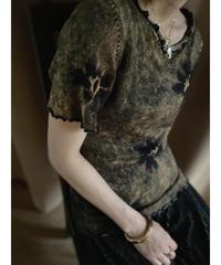 Tie dye design vintage color tops-2013-7