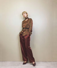 EVAN-PICONE bowtie silk shirt-1152-5